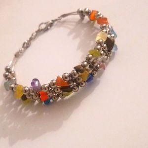 Gem Stone Fashion Bracelet